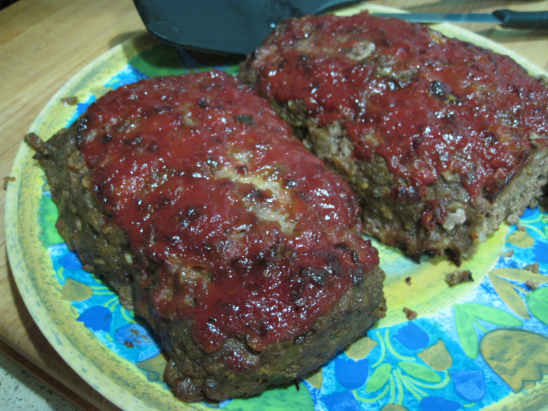 Chipotle glazed meatloaf recipe